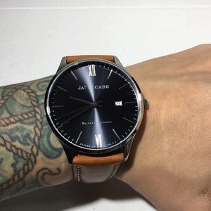 James McCabe The London Leather Watch